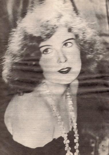 Е.Половникова. 1929г. Фото изархива Т.В.Сапегиной