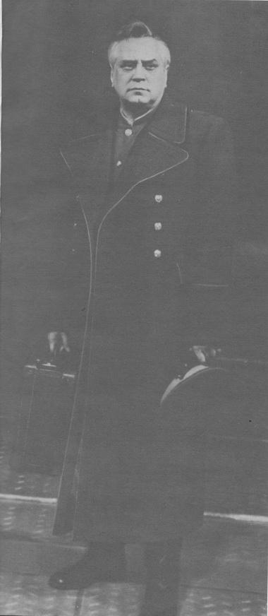 И. Горбачев в спектакле «Предел возможного». Фото из музея Александринского театра