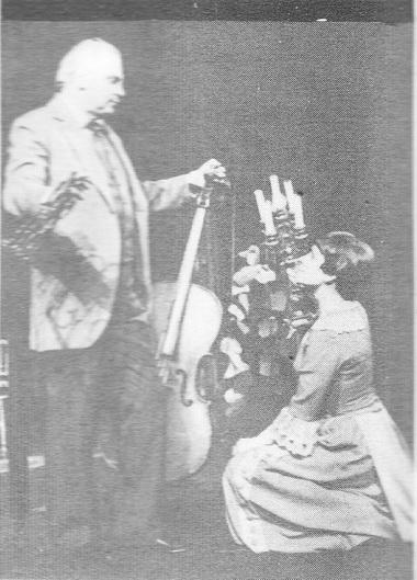 И. Горбачев (Иванов), Г.Карелина (Сарра). «Иванов». Фото В. Красикова