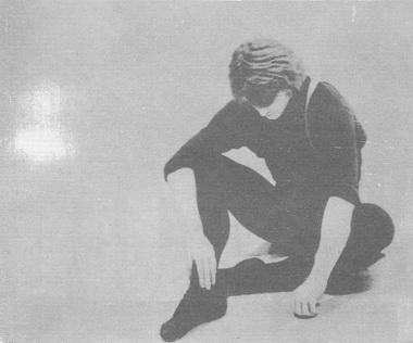 М. Барышников на репетиции своего концерта 1974 г. Фото Н. Аловерт
