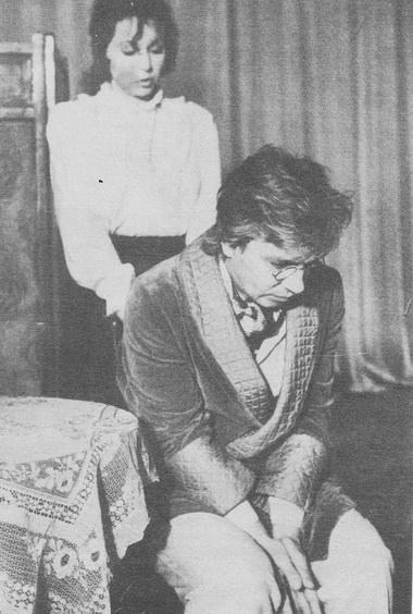 М. Рубина (Наташа), А. Уланов (Андрей Прозоров). Фото В. Дюжаева