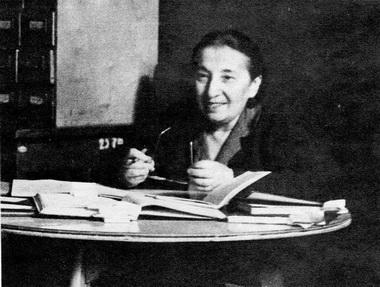 Е.Л.Финкельштейн. 1950-е годы