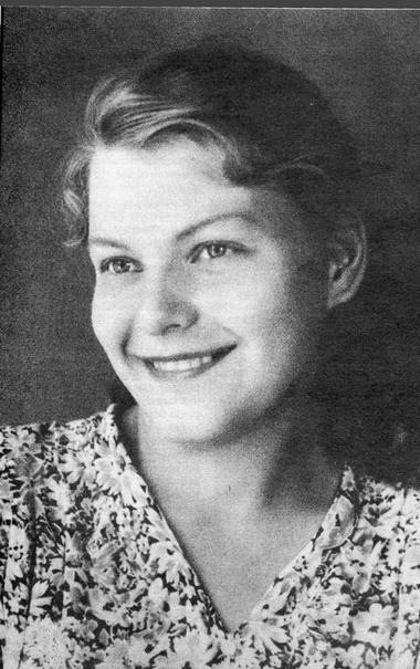 Н.Б.Кузякина. 1950-е годы. Фото изсемейного архива