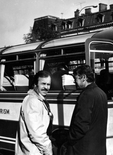 О.Борисов и М.Волков. 70-е годы. Из семейного архива