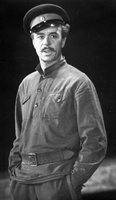 О.Борисов (Григорий Мелехов). «Тихий Дон». Фото Б.Стукалова