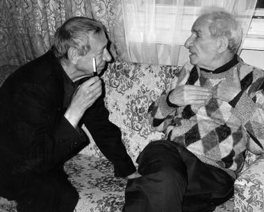 О.Н.Ефремов иА.М.Володин. 3октября 1997г. Фото М.Дмитревской