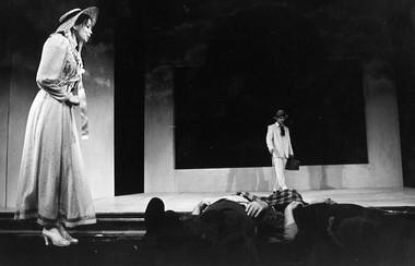 «Последний привет или  Жизнь исмерть Вахита Мансурова». Сцена изспектакля. Фото Ф.Гарифуллина
