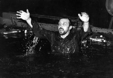 Н.Коляда после спектакля «Раскинулось море широко». Фото Б.Семавина