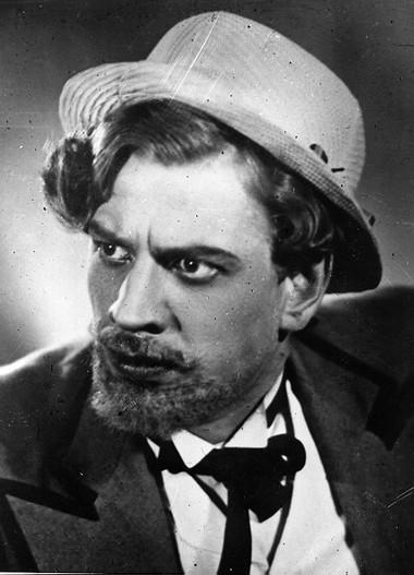 П.Панков(Вожеватов) Бесприданница АБДТ им.Г.Товстоногова. 1948г. Фото изархива театра