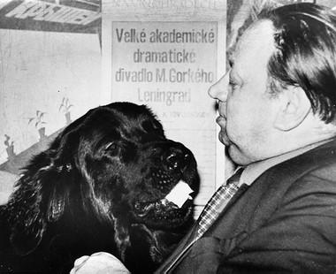 Павел Петрович спсом Устином. Фото изсемейного архива