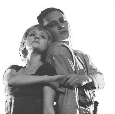 Т.Тарасова (Джульетта), Е.Агафонов (Ромео). «Ромео и Джульетта». Фото из архива Т.Тарасовой