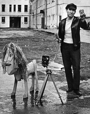 Б.Стукалов в1974 году после выхода книги «Львы стерегут город». Фото И.Наровлянского изархива Б.Стукалова