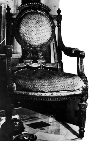 Кресло работы Геннадия Куневича. Фоторепродукция Б.Семавина