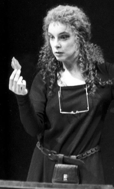 М.Лаврова (Ханна Джарвис). Фото из музея БДТ.