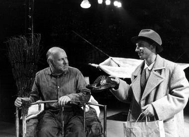 М.Трухин (Астон) и С.Фурман (Дэвис). Фото Ю.Белинского