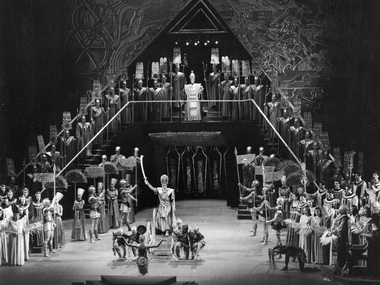 «Аида». Сцена из спектакля. Фото А.Бражникова