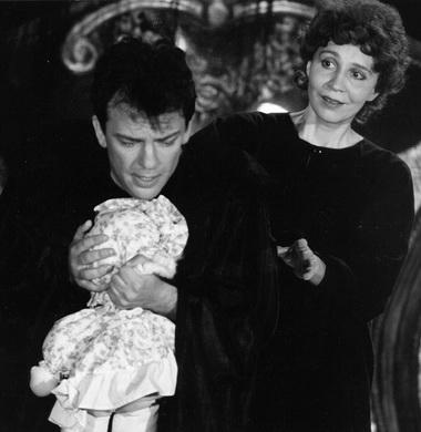 А.Пономарев (Альфред), М.Андреева (Виолетта). «Травиата». Фото О.Начинкина