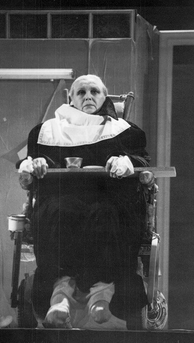 В.Артмане (Мать). Фото из архива театра