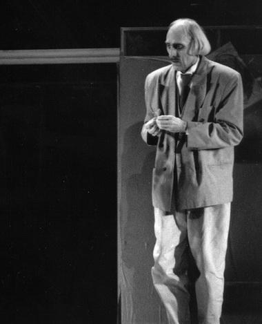 Ю.Стренга (Мишо). Фото  из архива театра