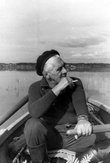 М.В.Сулимов. Карелия. 1980-е годы. Фото из семейного архива