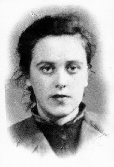 Дина Шварц. 40-е годы. Фото из семейного архива