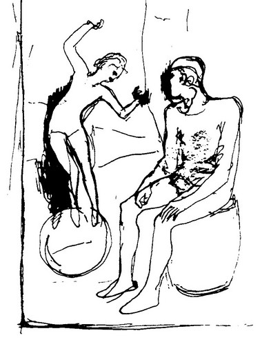 П.Пикассо. 1905 г.