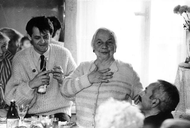 80-летие Нины Казариновой, 1993 г.