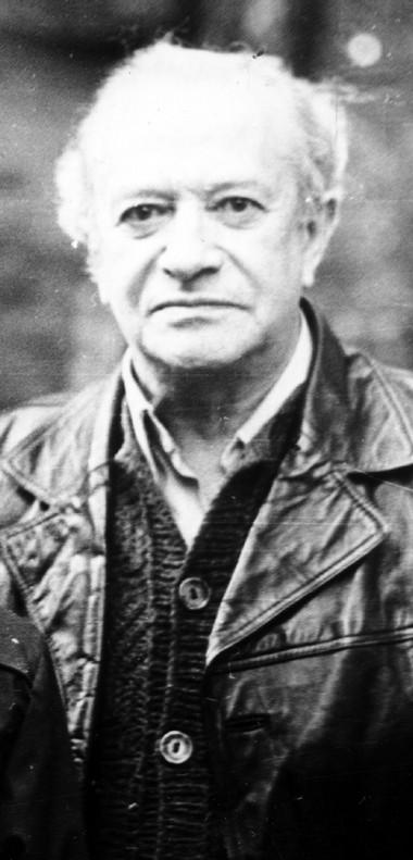 Давид Иосифович Золотницкий. Комарово. Осень 1983г. Фото изсемейного архива