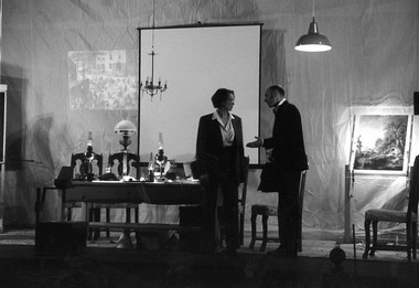 «Аркадия». Рижский Новый театр. Сцена изспектакля. Фото изархива театра