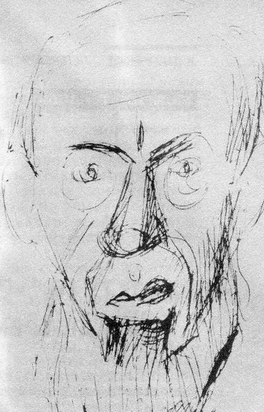 Е.С.Калмановский. Рисунок В.Каминского