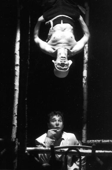 С.Маковецкий (Коврин), И.Ясулович (Монах). Фото Е. Лапиной изархива театра