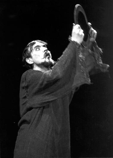 А.Антонов (Моисей). «Голоса незримого». «Геликон-опера». Фото О. Начинкина