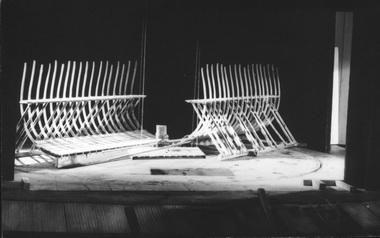 «Царь Петр» Ф.Горенштейна. Александринский театр.1998. Оформление