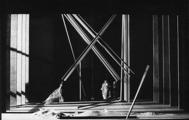 «Буря» У.Шекспира. Театр им. В.Ф.Комиссаржевской.1998. Макет