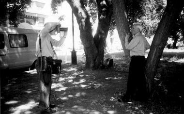 Фотографы Омска круглосуточно фотографировали А.М.Володина. Фото М.Дмитревской