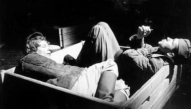 С.Тарамаев (Михеев), Т.Моцкус (Куропятников). Фото М. Гутермана