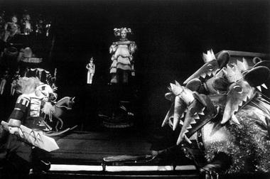Сцена из спектакля «Щелкунчик». Фото из архива автора