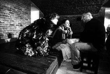 А.Барабаш, М.Лоскутникова и А.Праудин на репетиции. Фото Ю.Белинского