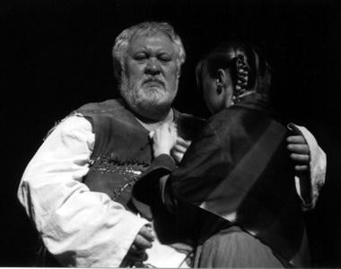 О.Афанасьев (Санчо). Фото из архива театра