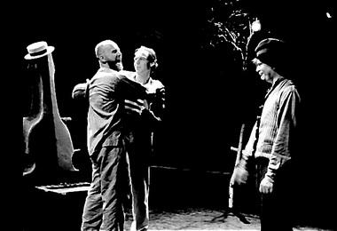 «Что случилось с женщиной». По новеллам А.П.Чехова. Режиссер Чаба Киш. Сцена из спектакля. Фото из архива автора