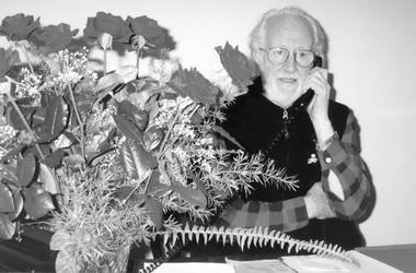 З.Я.Корогодский после празднования своего юбилея «навыезде» вЕкатеринбурге. Фото М. Дмитревской