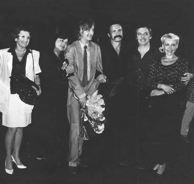 Е.Павлова, М. Шопова, Н.Боярчиков, Г. Ковтун, В.Салимбаев, И. Яковлева. Фото изархива автора