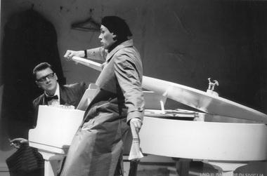 «Севильский цирюльник». Сцена изспектакля. Фото изархива театра