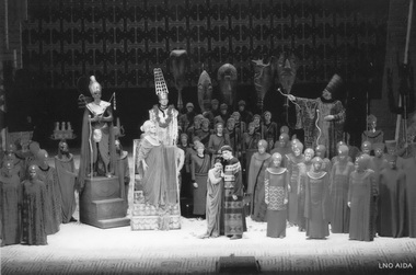 «Аида». Сцена изспектакля. Фото изархива театра