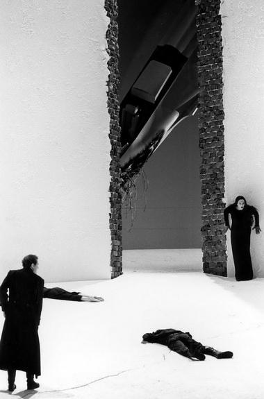 «Троянцы». Сцена изспектакля. Зальцбургский фестиваль. 2000г. Фото изархива автора