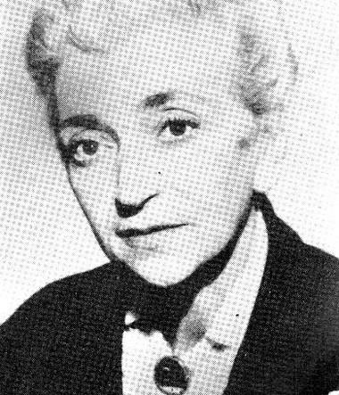 Лидия Левбарг. Фото измузея СПГИТМиК