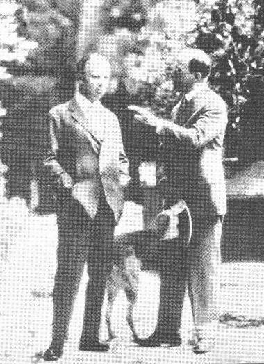 М. Рейнхард иГ. фон Гофмансталь. Апрель 1903г.