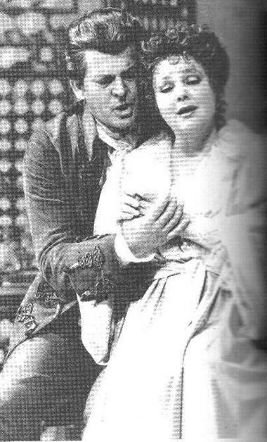 Т. Аллен (Граф), Л.Попп (Графиня). «Свадьба Фигаро»