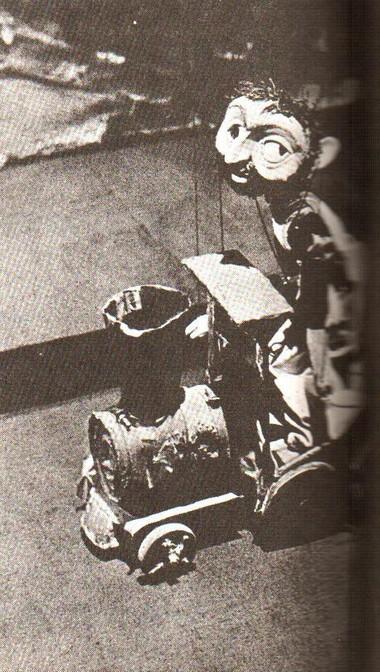 Кукла Хечо изспектакля «Бриллиант маршаладе Фантье». Тбилисского театра марионеток. Фото изархива театра