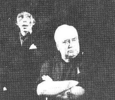 Е. Ложина (Шут) иЕ.И. Горбачев (Лир). Фото В. Васильева